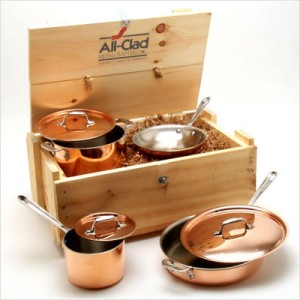 All Clad Cooper Core Cookware
