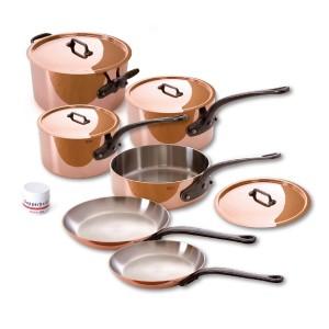 Mauviel M'heritage Copper Cookware