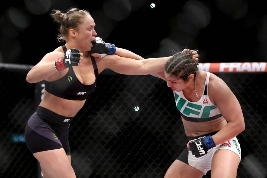The Raunchy Ronda Rouseys Wardrobe Malfunction Best Cookware